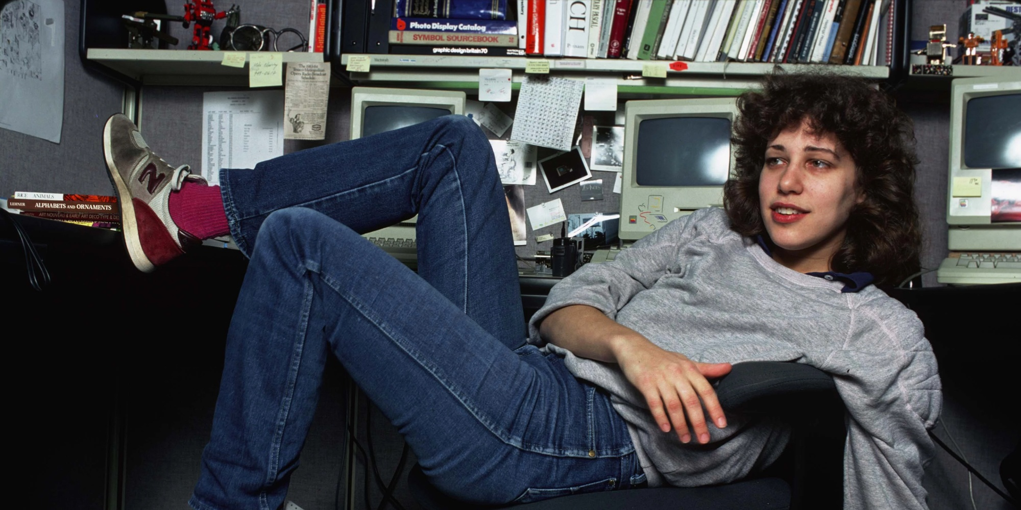 Susan Kare in a Photograph by Norman Seeff
