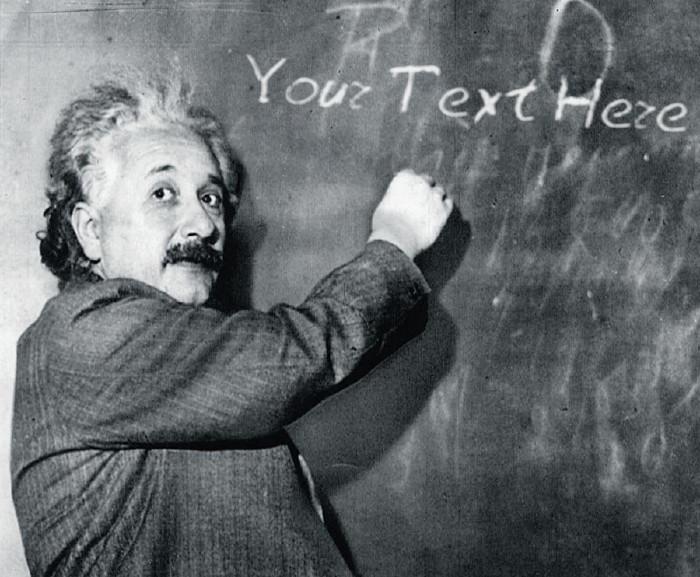 Albert Einstein - rigorous experimentation genius.
